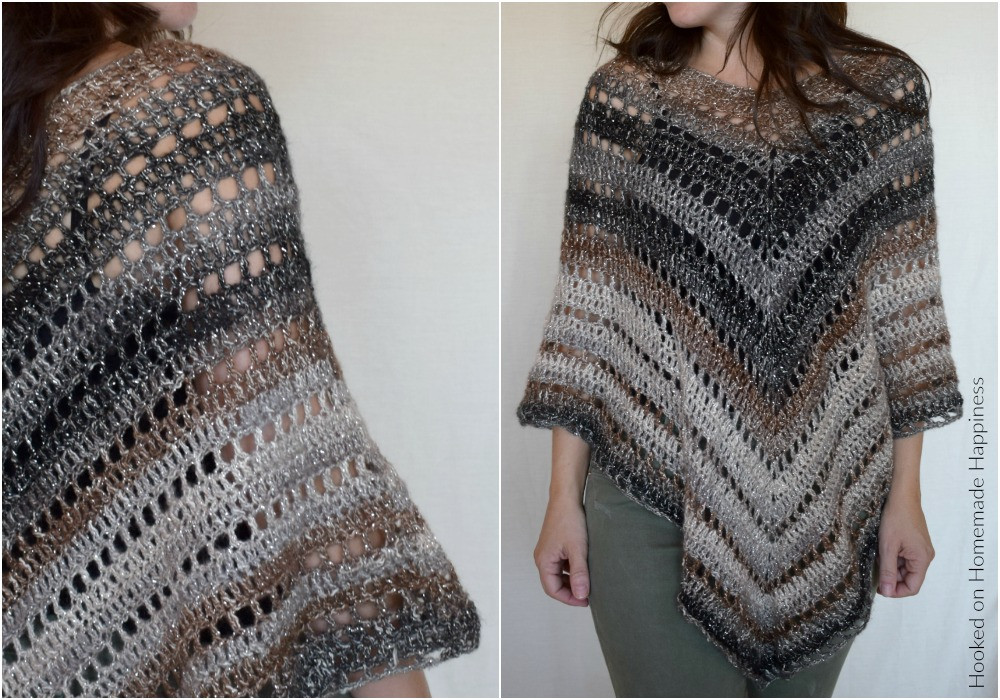 Beautiful Desertlife Crochet Poncho Pattern Crochet Poncho Sweater Of Innovative 44 Pictures Crochet Poncho Sweater