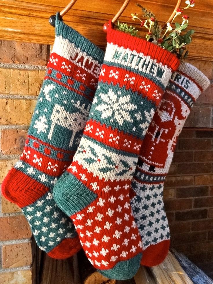 Beautiful Different Patterns Of Knitted Christmas Stockings Knit Stocking Pattern Of Attractive 47 Pictures Knit Stocking Pattern