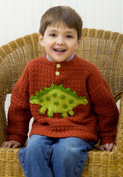 Beautiful Dinosaur Sweater Crochet Pattern From Red Heart Yarn Red Heart Sweater Of Fresh Free Pattern Summer Night Sweater In Red Heart soft Red Heart Sweater