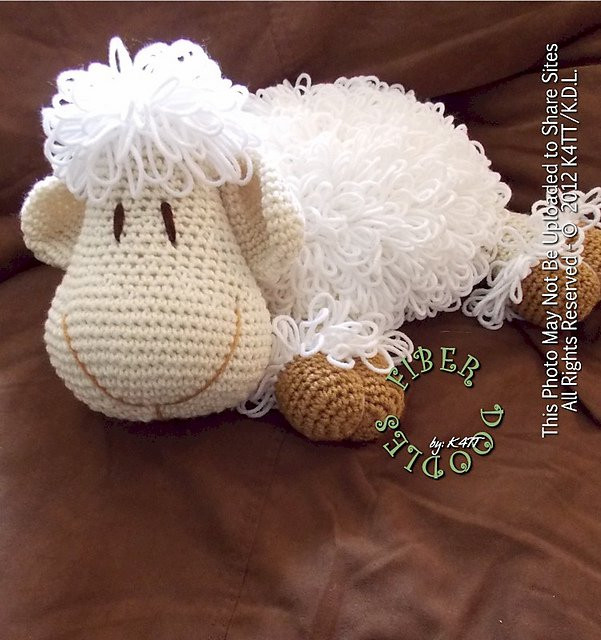 Beautiful Diy Adorable Crochet or Knitted Lamb Pillow Page 2 Of 2 Crochet Lamb Pattern Of Great 42 Pics Crochet Lamb Pattern