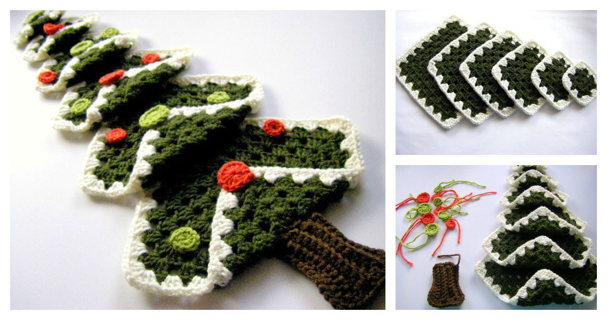 Beautiful Diy Crocheted Christmas Tree with Free Pattern Free Crochet Christmas Tree ornament Patterns Of Awesome 44 Ideas Free Crochet Christmas Tree ornament Patterns