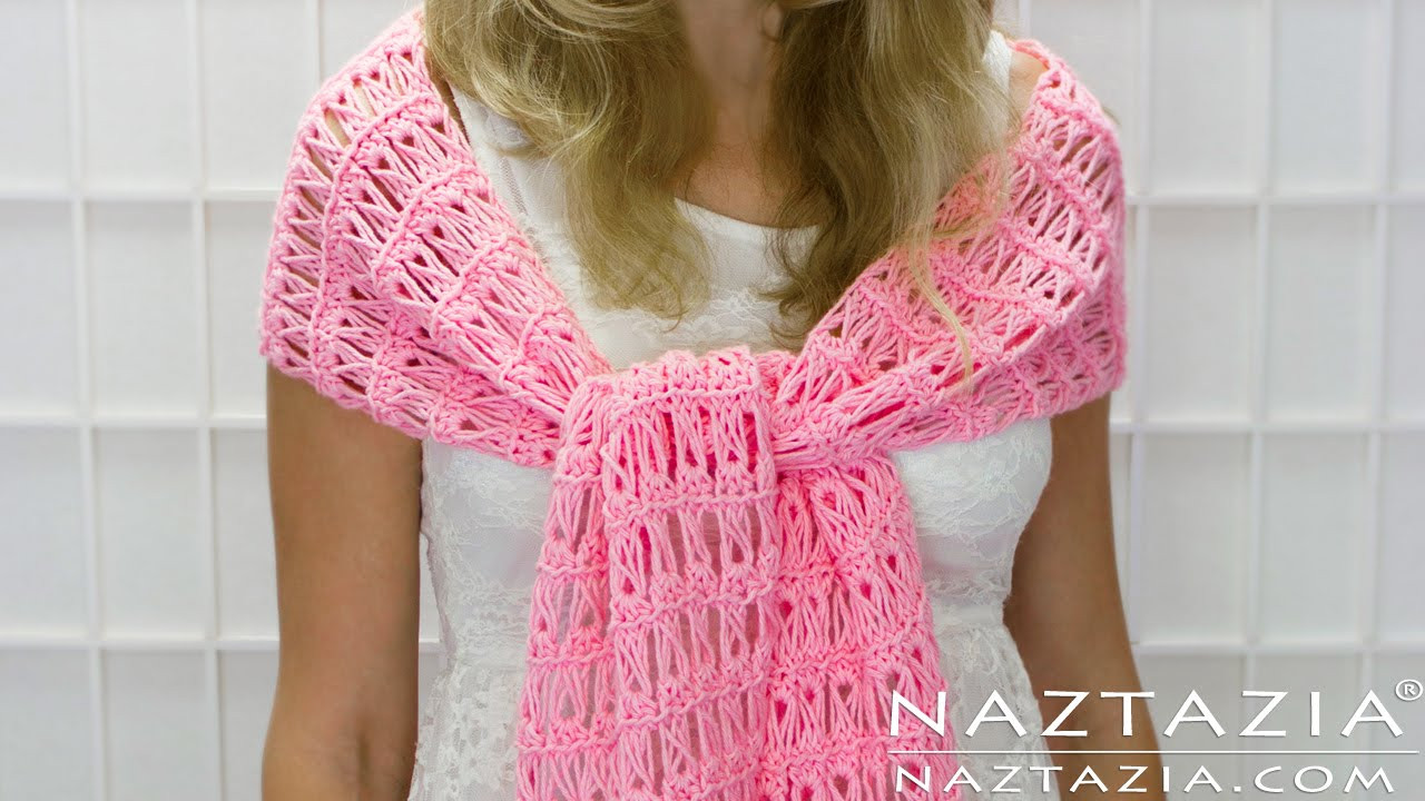 Beautiful Diy Tutorial How to Crochet Broomstick Lace Shawl Scarf Crochet Shawl Tutorial Of Attractive 40 Ideas Crochet Shawl Tutorial