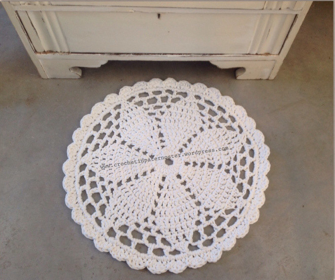 Beautiful Doily Rugs with T Shirt Yarn – Crochet In Paternoster Rug Yarn for Crochet Of Gorgeous 50 Photos Rug Yarn for Crochet