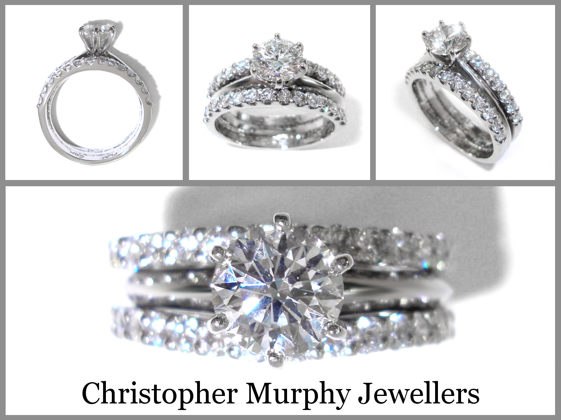 Beautiful Double Wedding Ring 228 Christopher Murphy Jewellers Double Wedding Ring Of Perfect 40 Photos Double Wedding Ring