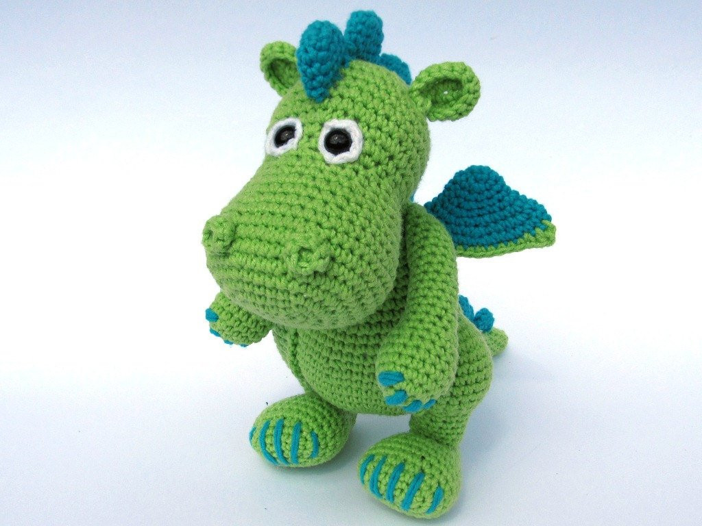 Beautiful Dragon Draco Amigurumi Crochet Pattern Pdf E Book Stuffed Crochet Dragon Pattern Of Brilliant 50 Pictures Crochet Dragon Pattern