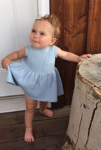 Beautiful Dresses and Skirts for Children Knitting Patterns Knitted Baby Dress Of Brilliant 49 Photos Knitted Baby Dress
