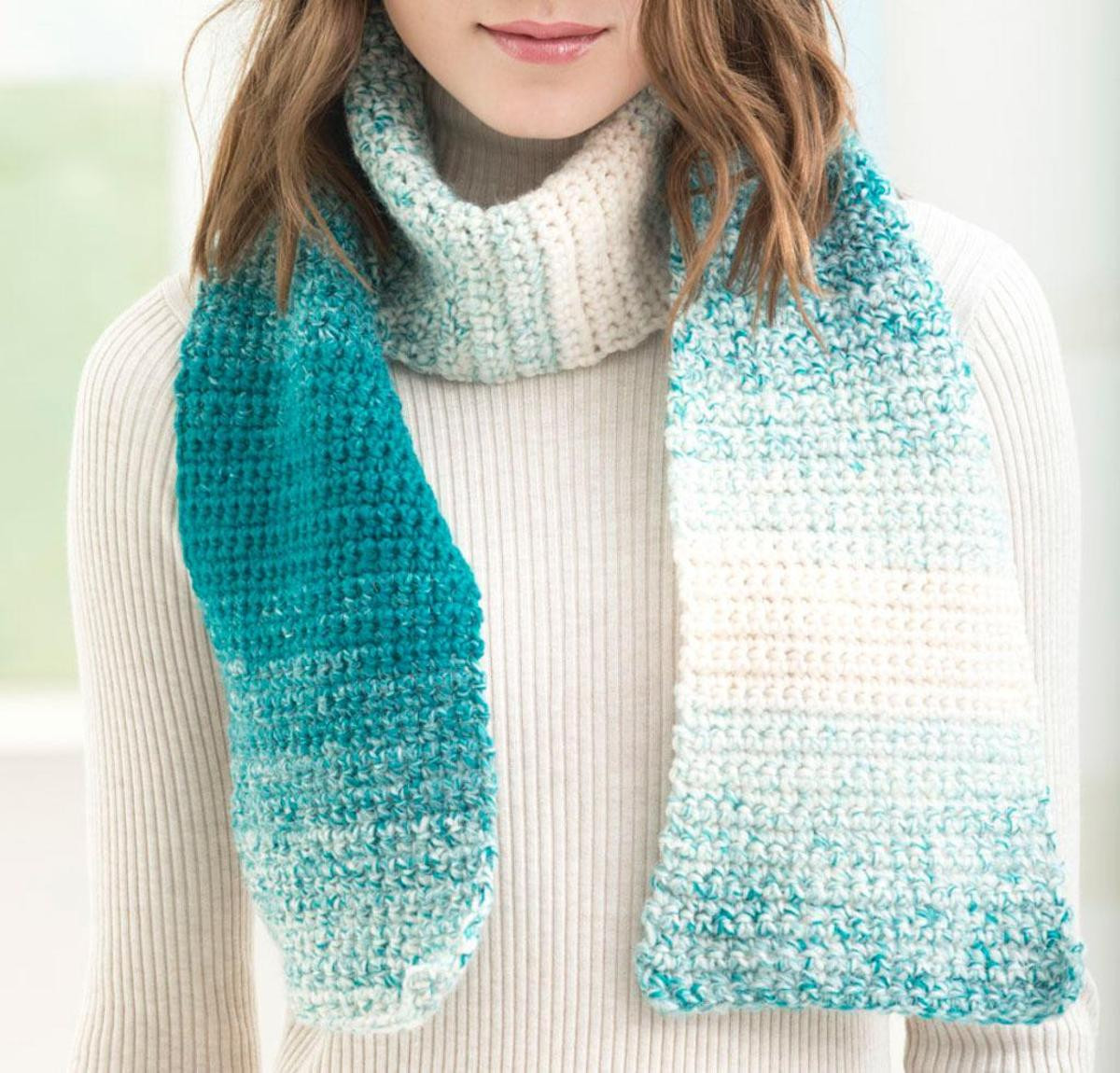 e Stitch Scarfie Scarf Crochet Kit