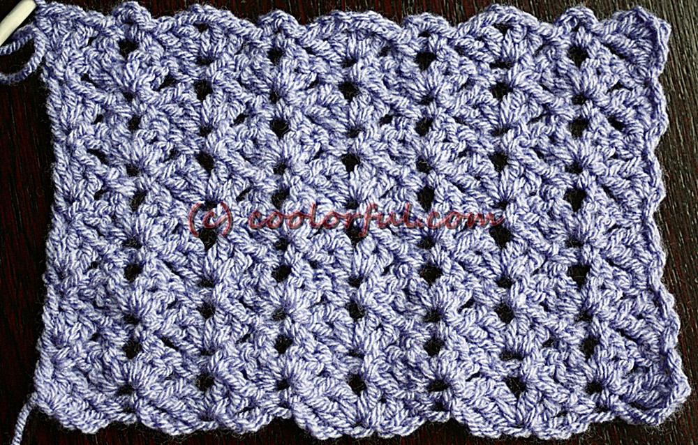 easy crochet stitches – Coolorful