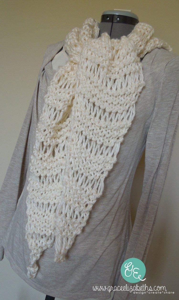 Beautiful Easy Knit Scarf Pattern Use Bulky Yarn Chunky by Simple Knit Scarf Of Attractive 44 Pictures Simple Knit Scarf