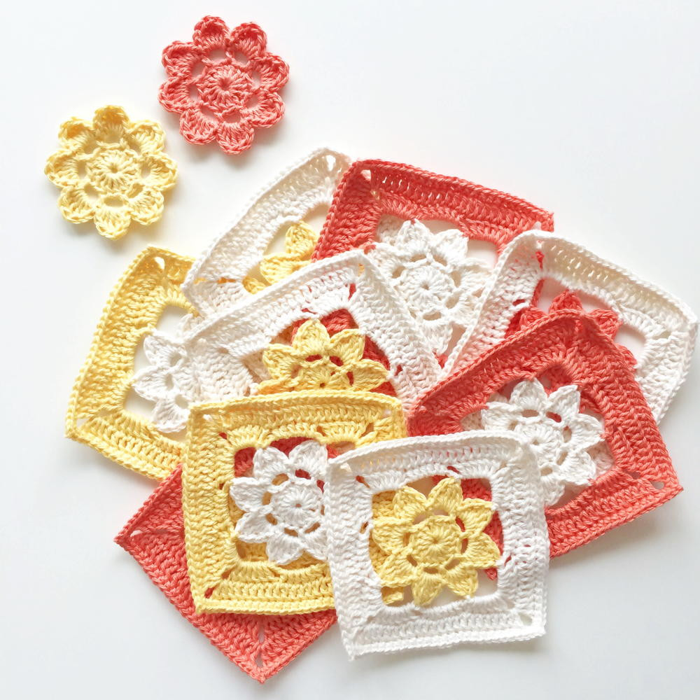 Beautiful Easy Peasy Flower Squares Crochet Gifts Of Amazing 45 Models Crochet Gifts