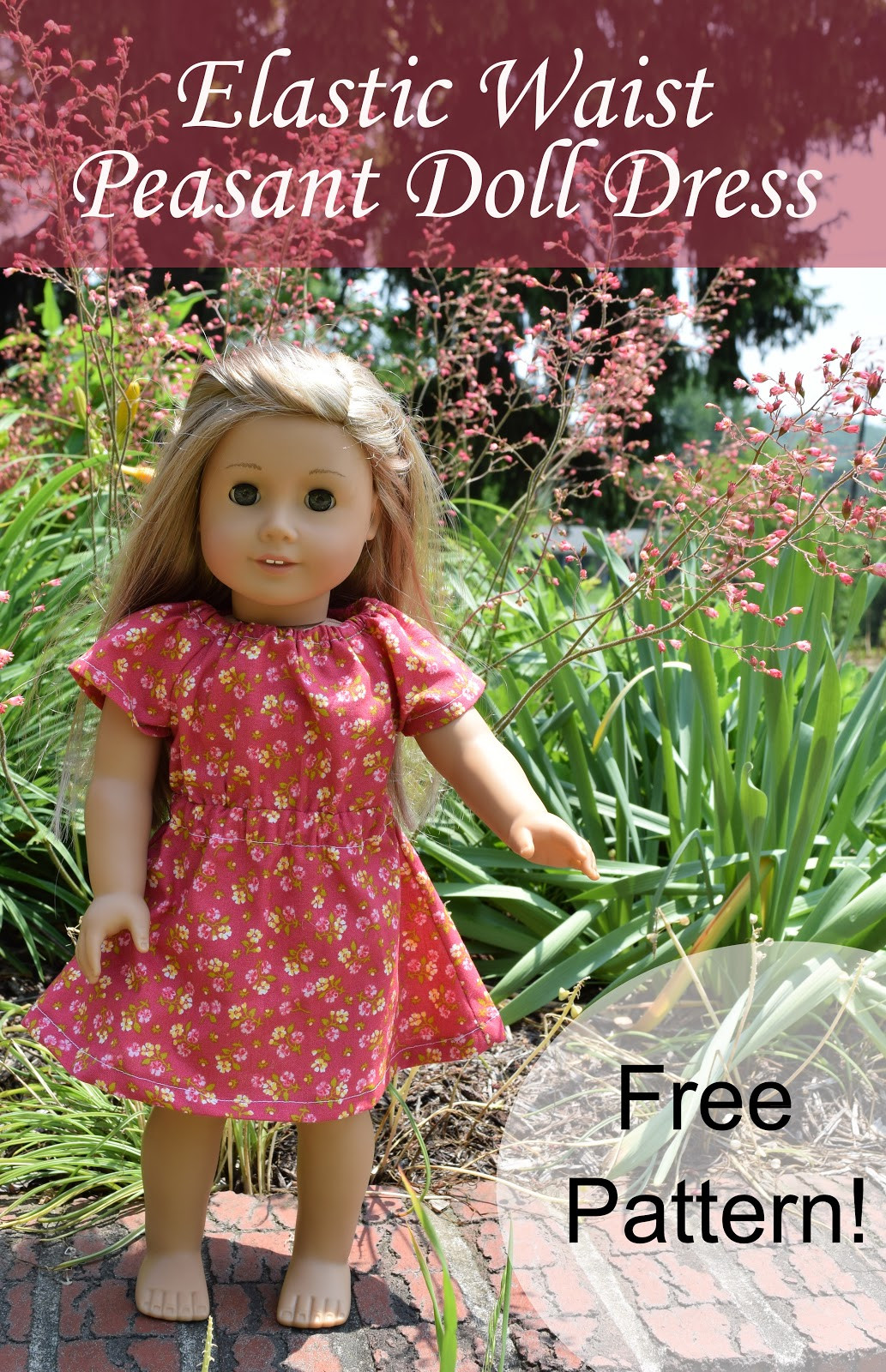 Beautiful Elastic Waist Doll Dress Pattern American Girl Doll Clothes Patterns Of Incredible 40 Images American Girl Doll Clothes Patterns