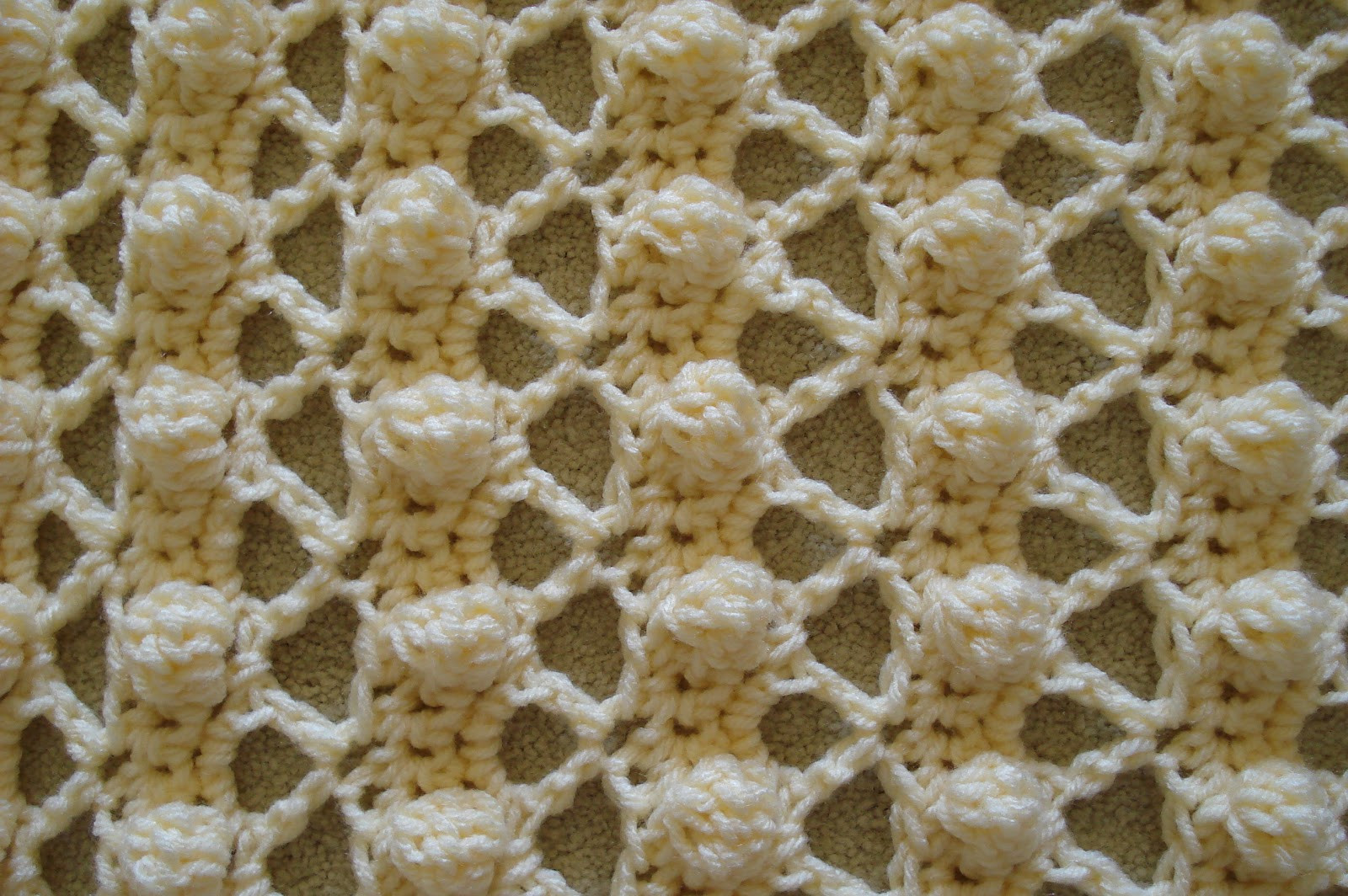 Beautiful Elle is for Living Crocheted Popcorn Stitch Baby Blanket Popcorn Stitch Crochet Patterns Of Best Of How to Crochet Lazy Popcorn Stitch No Removing Your Hook Popcorn Stitch Crochet Patterns