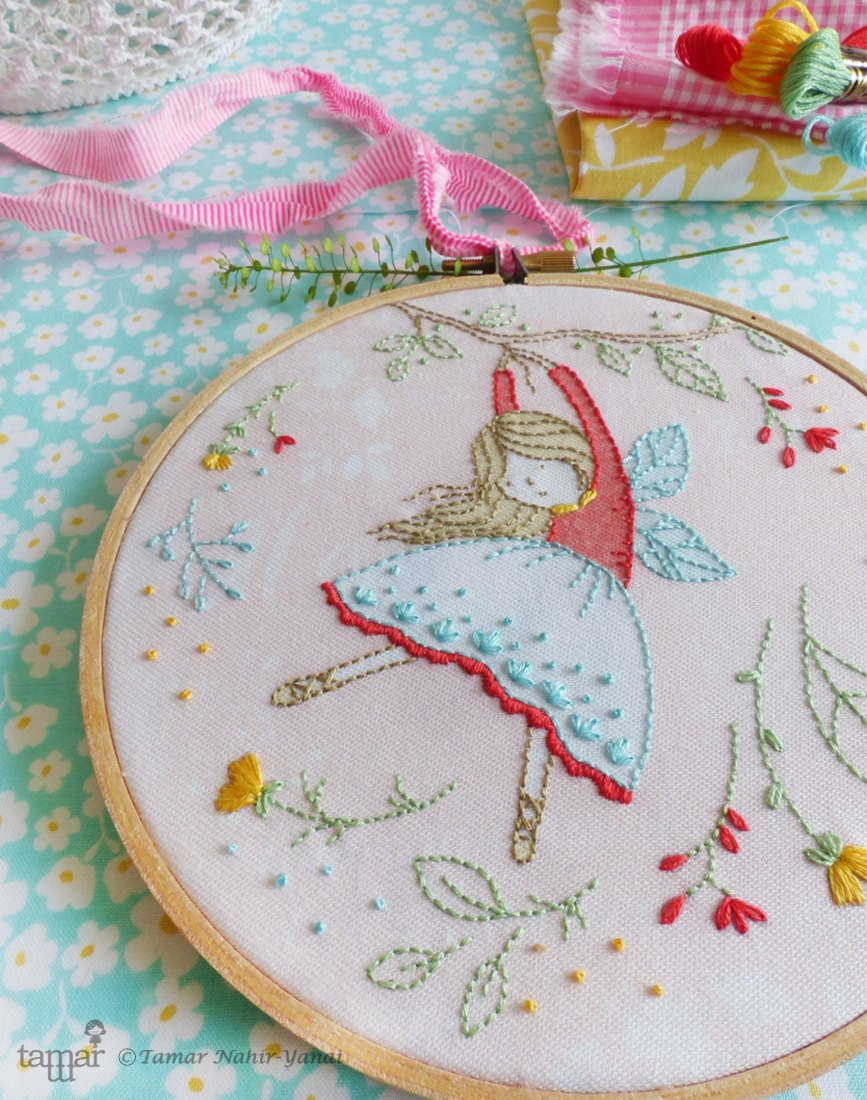 Beautiful Embroidery Kit Hand Embroidery Flying Fairy Fairy Nursery Hand Embroidery Kits Of Delightful 45 Photos Hand Embroidery Kits