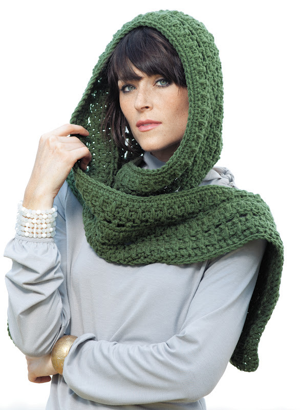 Beautiful Everyday Life at Leisure Win It Wednesday Hooded Scarves Hooded Scarf Pattern Of Brilliant 43 Pics Hooded Scarf Pattern