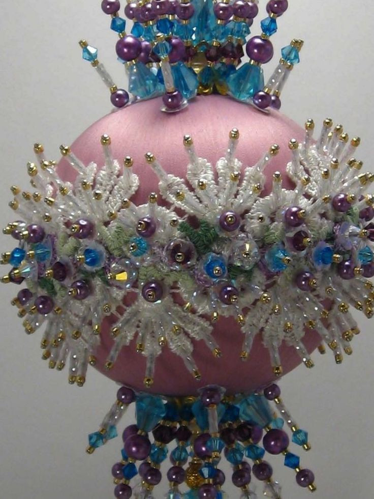 Beautiful Fancy Schmancy Victorian Finished Hand Made Beaded Satin Fancy Christmas ornaments Of Gorgeous 49 Ideas Fancy Christmas ornaments