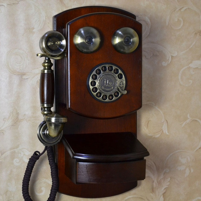 Beautiful Fashion Antique Vintage Telephone American Style Home Old Fashioned Wall Phone Of Charming 47 Models Old Fashioned Wall Phone