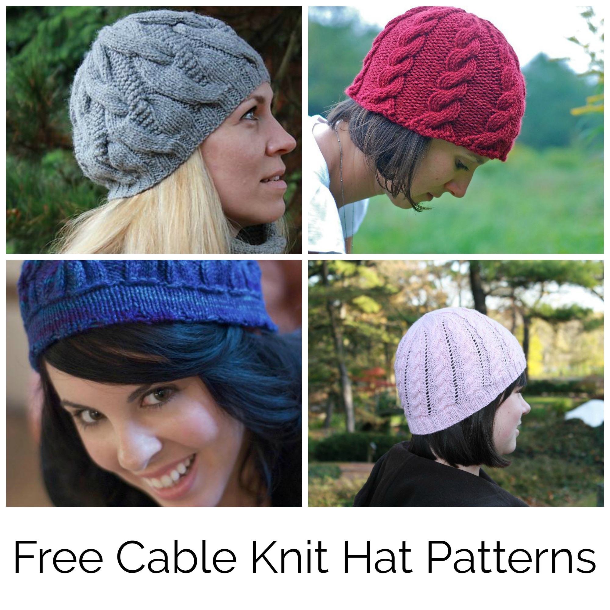 Beautiful Find Your Favorite Free Cable Knit Hat Pattern Cable Knitting Patterns Of Beautiful 41 Models Cable Knitting Patterns