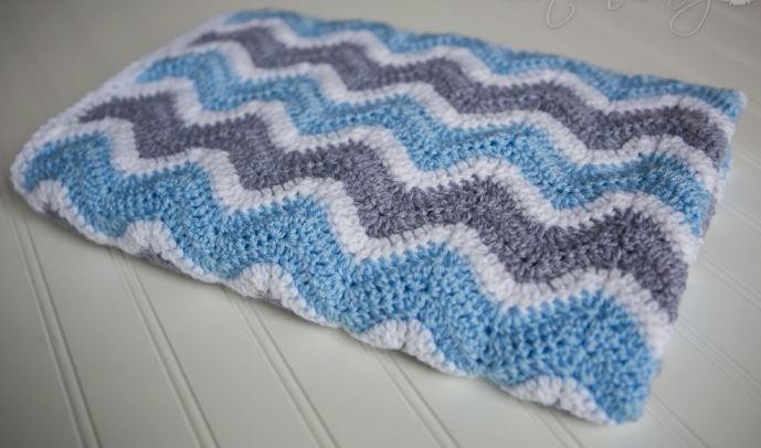 Beautiful Foggy Morning Chevron Baby Blanket Free Chevron Crochet Pattern Of Top 49 Models Free Chevron Crochet Pattern