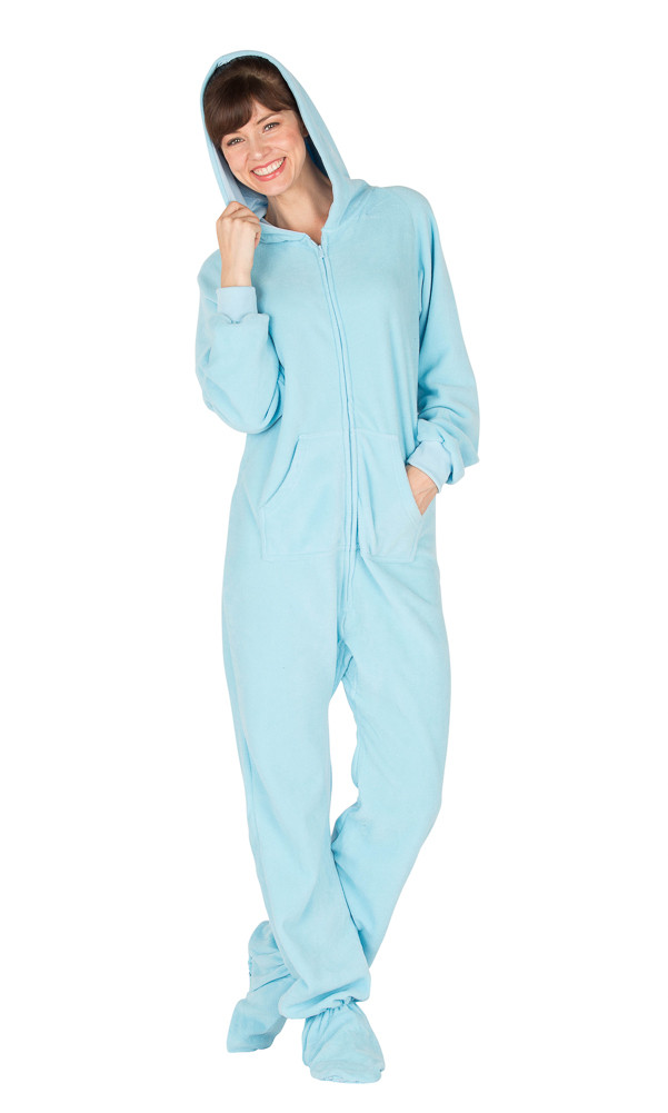 Beautiful Footed Pajamas Baby Blue Adult Hoo E Piece Baby Pajamas with Feet Of Delightful 40 Photos Baby Pajamas with Feet
