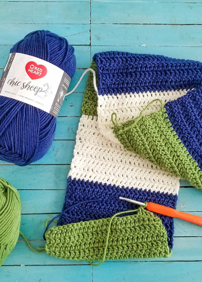 Beautiful for the Boys Easy Crochet Color Blocked Scarf & Beanie Red Heart Chic Sheep Yarn Of Charming 41 Images Red Heart Chic Sheep Yarn