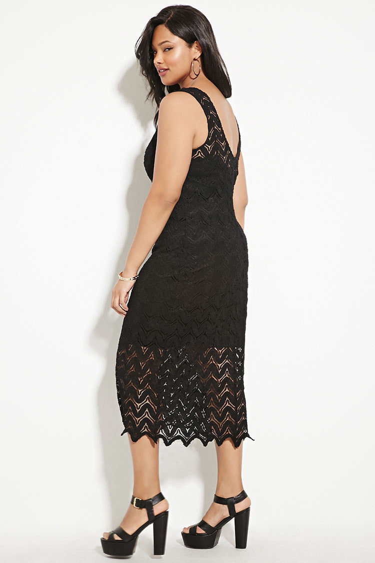 Beautiful forever 21 Plus Size Crochet Midi Dress In Black Plus Size Crochet Dress Of Attractive 46 Ideas Plus Size Crochet Dress