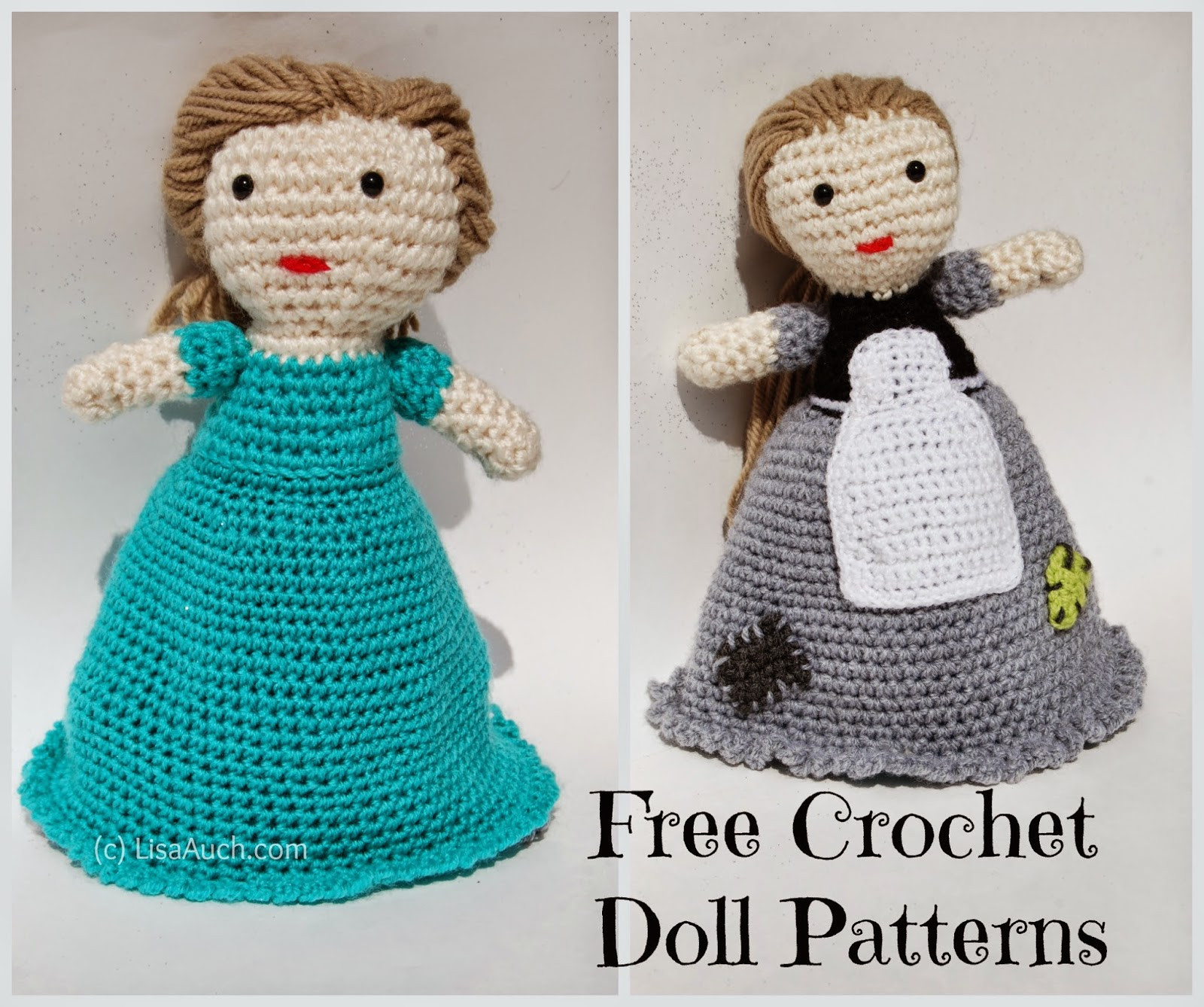 Beautiful Free Crochet Amigurumi Doll Pattern A Basic Crochet Doll Printable Crochet Patterns Of New 42 Pictures Printable Crochet Patterns