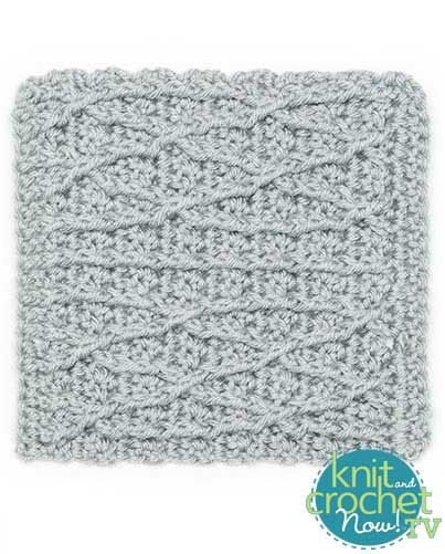 Beautiful Free Crochet Cables Pattern Featured In Season 7 Of Knit Knit and Crochet today Of Innovative 49 Pics Knit and Crochet today