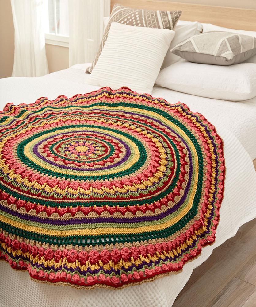 Beautiful Free Crochet Mandala Patterns ⋆ Crochet Kingdom 15 Free Mandala Crochet Patterns Of Beautiful 48 Pictures Mandala Crochet Patterns