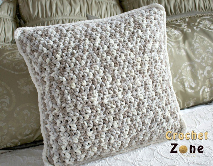 Beautiful Free Crochet Pattern for Basic Throw Pillow Crochet Zone Crochet Pillow Covers Of Incredible 47 Pics Crochet Pillow Covers