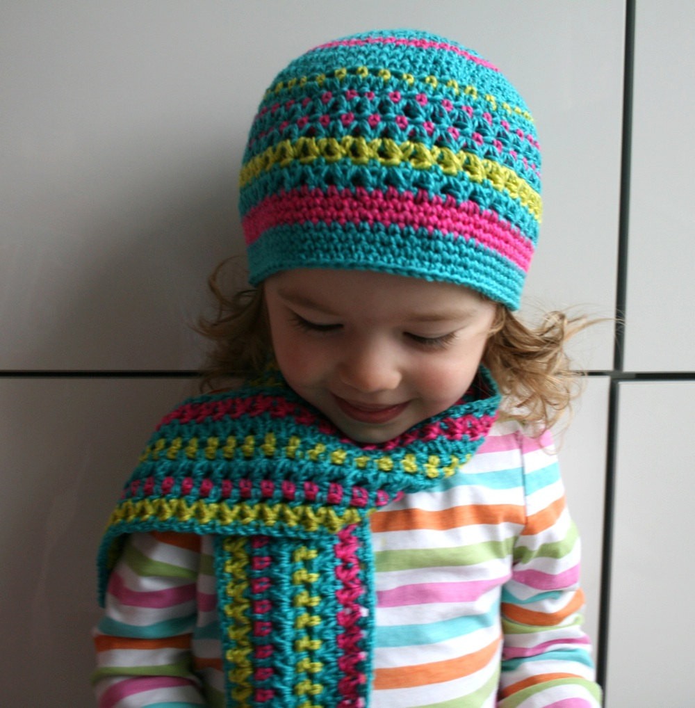 Free Crochet Pattern For Childs Scarf Dancox for