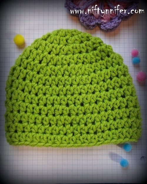Beautiful Free Crochet Pattern for Half Double Crochet Hdc Beanie Double Crochet Hat Of Great 43 Models Double Crochet Hat