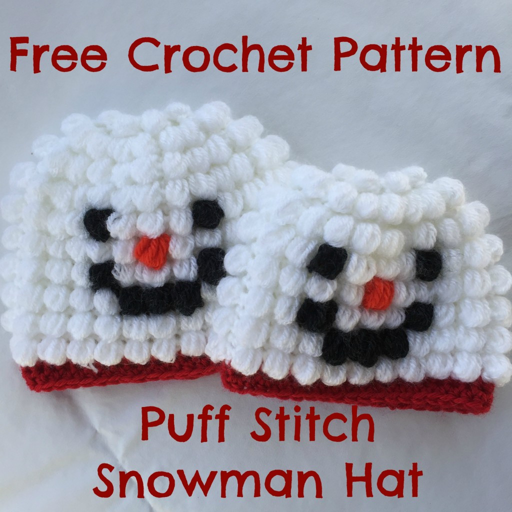 Beautiful Free Crochet Pattern Puff Stitch Snowman Hat Puff Crochet Of Great 49 Ideas Puff Crochet
