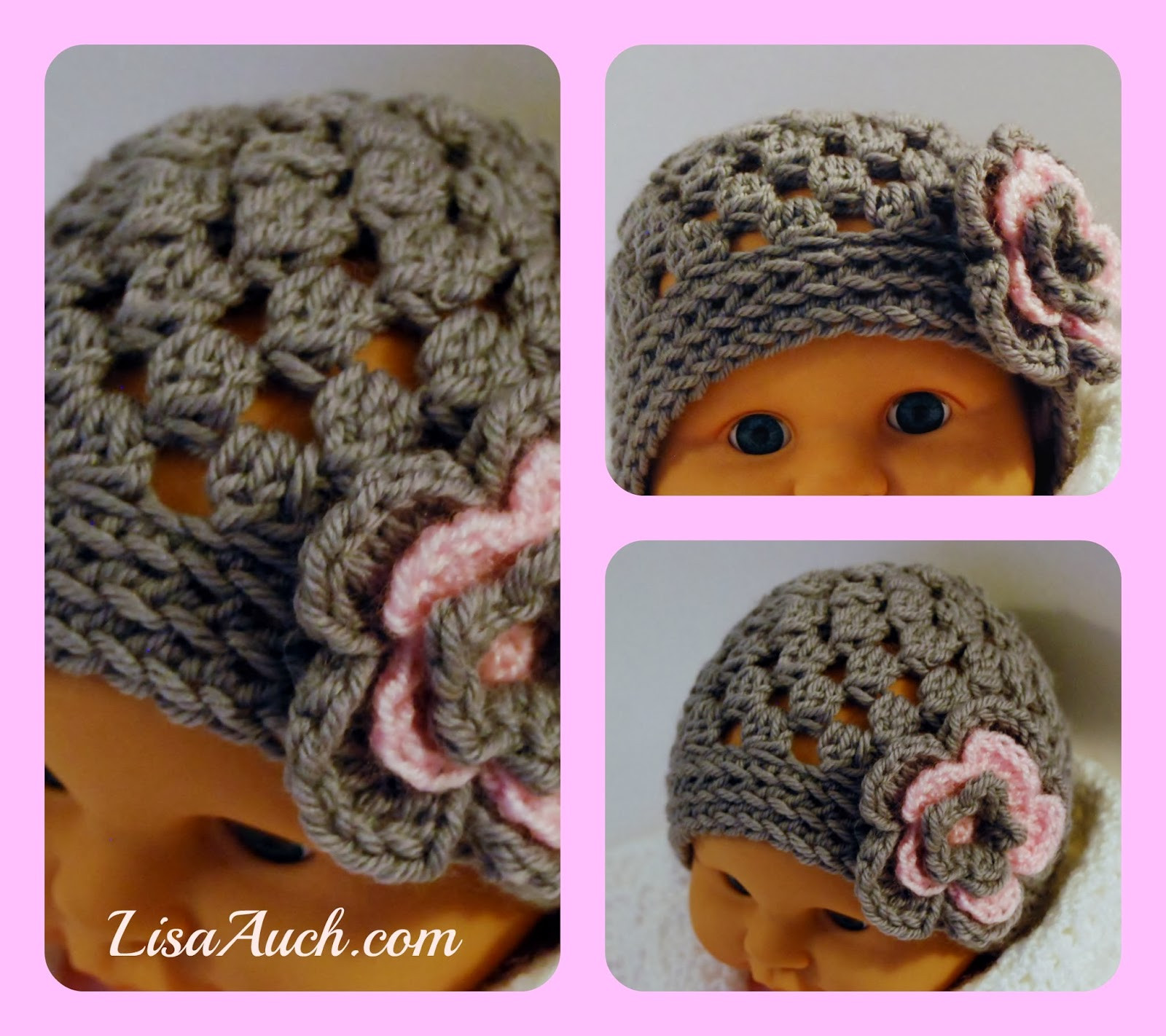 Beautiful Free Crochet Patterns and Designs by Lisaauch Free Crochet Baby Beanie Free Pattern Of Great 42 Pictures Crochet Baby Beanie Free Pattern