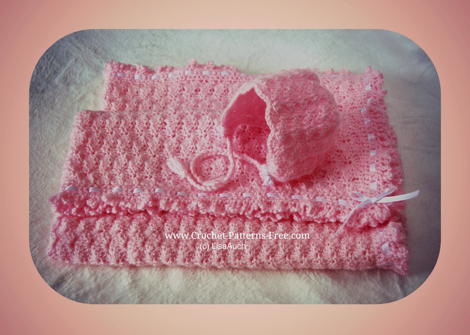 Beautiful Free Crochet Patterns and Designs by Lisaauch Free Crochet Shell Baby Blanket Of Lovely 50 Ideas Crochet Shell Baby Blanket