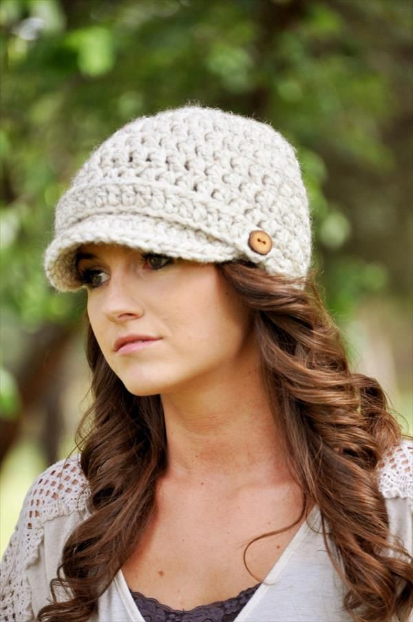 Beautiful Free Crochet Patterns for Women S Winter Hats Crochet Hat with Brim Free Patterns Of Incredible 49 Ideas Crochet Hat with Brim Free Patterns