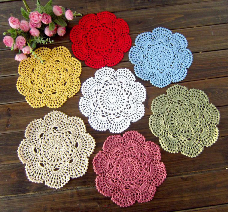 Free Crochet Snowflake Placemat Patterns Dancox for