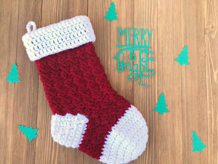 Beautiful Free Crochet Stocking Pattern Step by Step Darice Crochet Christmas Stockings Of Contemporary 48 Pics Crochet Christmas Stockings