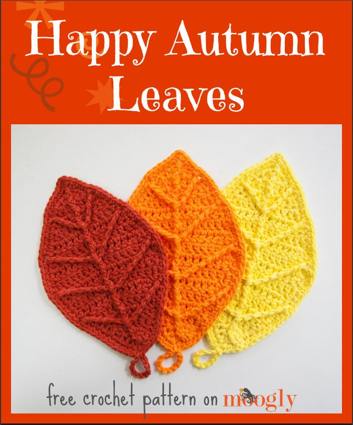 Beautiful Free Fall Crochet Patterns Home Decor Hats and More Free Crochet Leaf Pattern Of Contemporary 40 Pictures Free Crochet Leaf Pattern