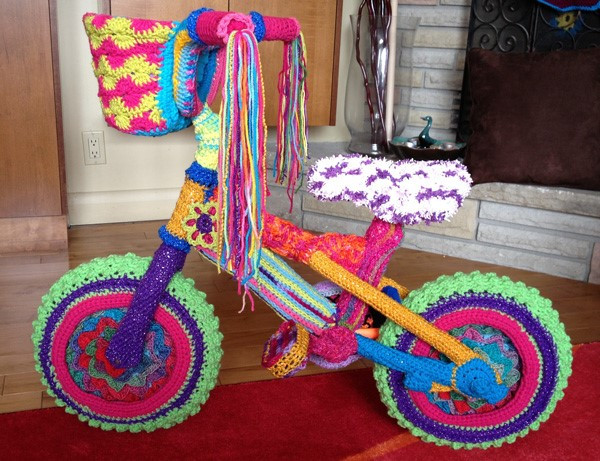 Free Form Crochet Artistry with Mikey