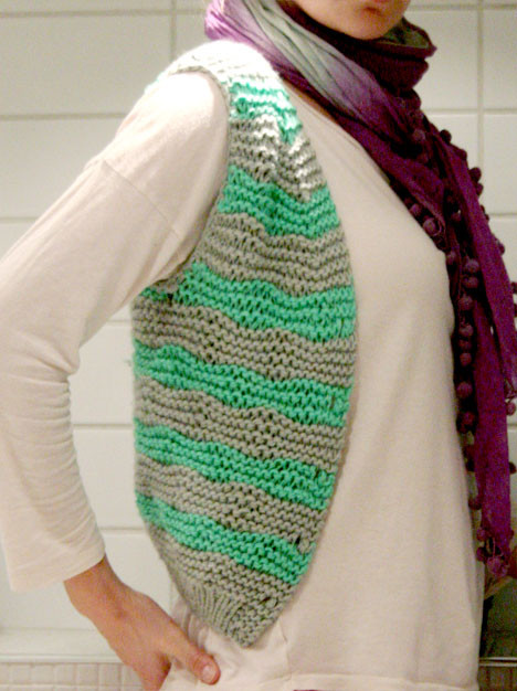 free knitted vest patterns