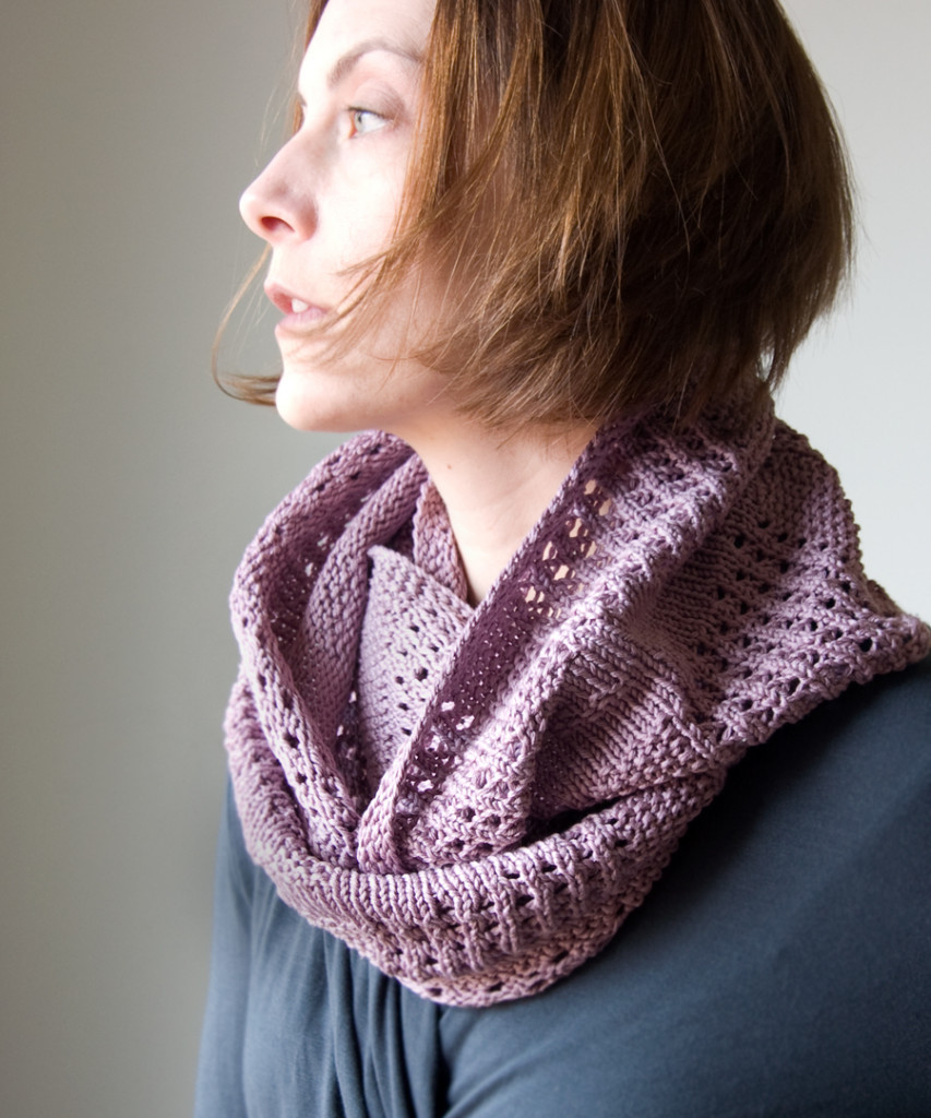 Free Knitting Pattern Canaletto Cowl