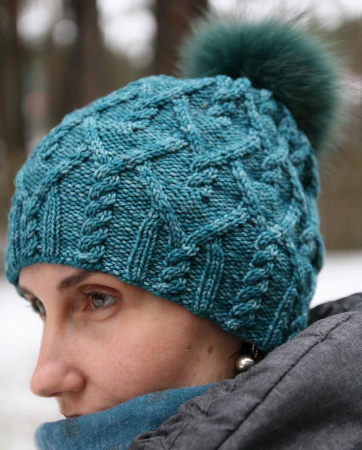 Free Knitting Pattern for Agathis Hat – Versatile cable