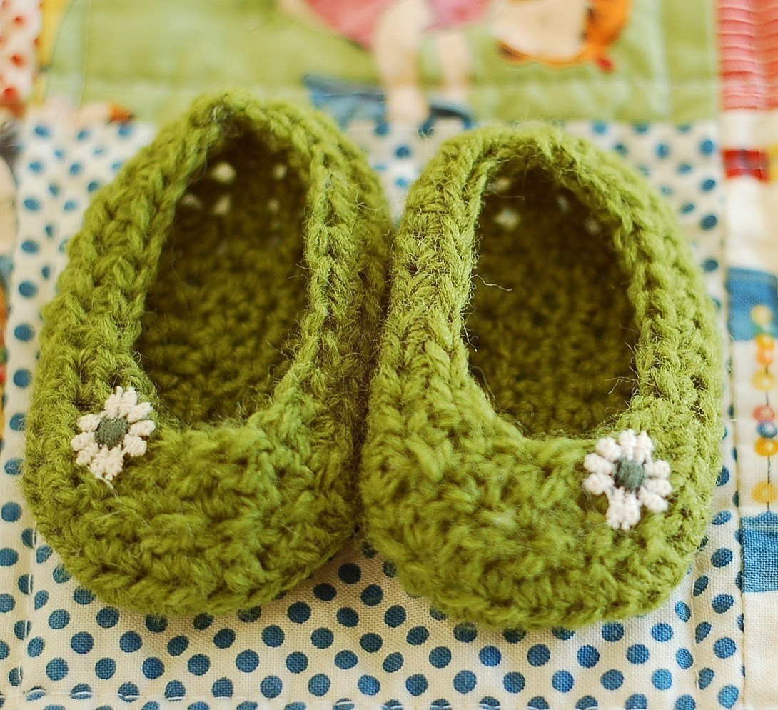 Beautiful Free One Piece Crocheted Slippers Patterns – Easy Crochet Crochet Baby Slippers Of Marvelous 50 Images Crochet Baby Slippers