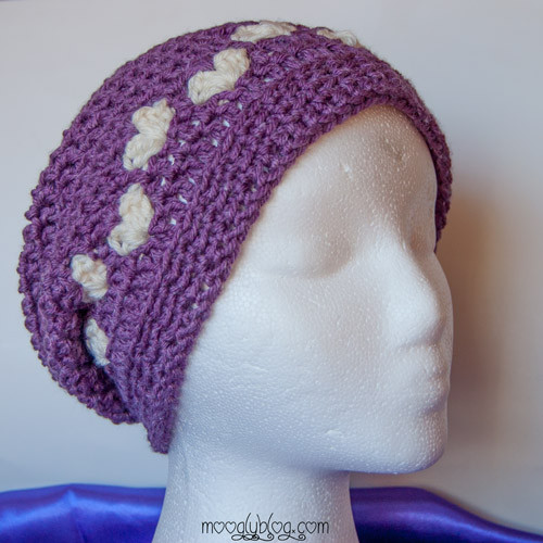 Free Pattern All Mine Crochet Slouch Hat
