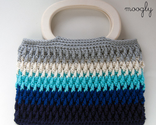 Beautiful Free Pattern Chroma Crochet Bag Crochet Purse Handles Of Awesome 44 Pictures Crochet Purse Handles