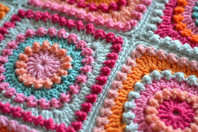 Beautiful [free Pattern] Circle Friends Square Blanket Crochet Circle Blanket Of Innovative 46 Models Crochet Circle Blanket