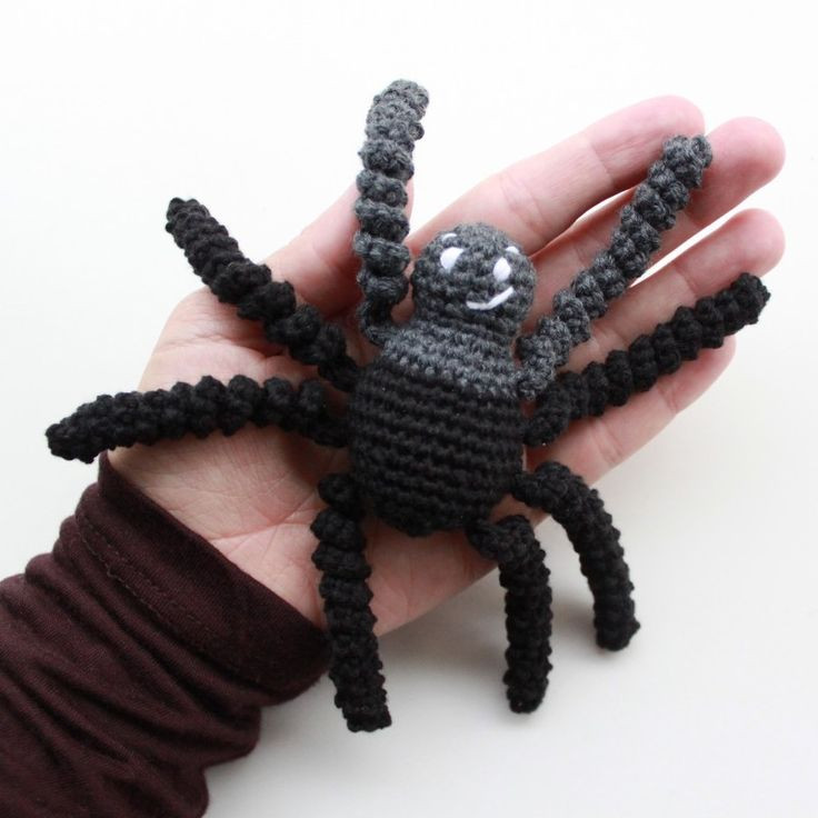 Beautiful Free Pattern Crochet Spider From Lutteridyl Crochet Spider Of Amazing 49 Models Crochet Spider