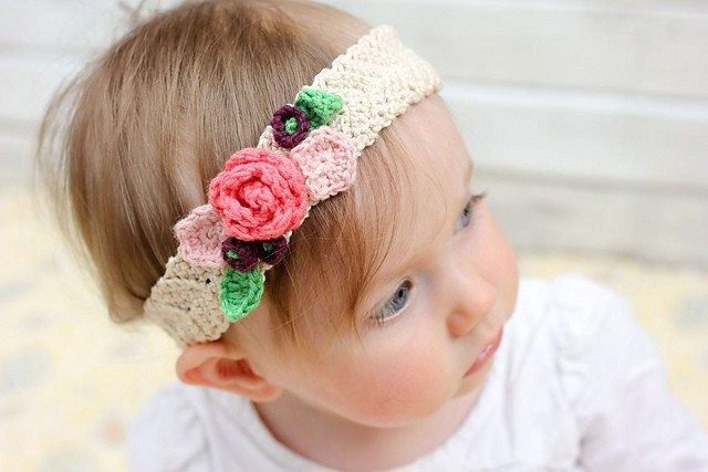 Beautiful [free Pattern] Pretty Stretchy and so Lovely Crochet Stretchy Crochet Baby Headband Pattern Of Top 48 Images Stretchy Crochet Baby Headband Pattern