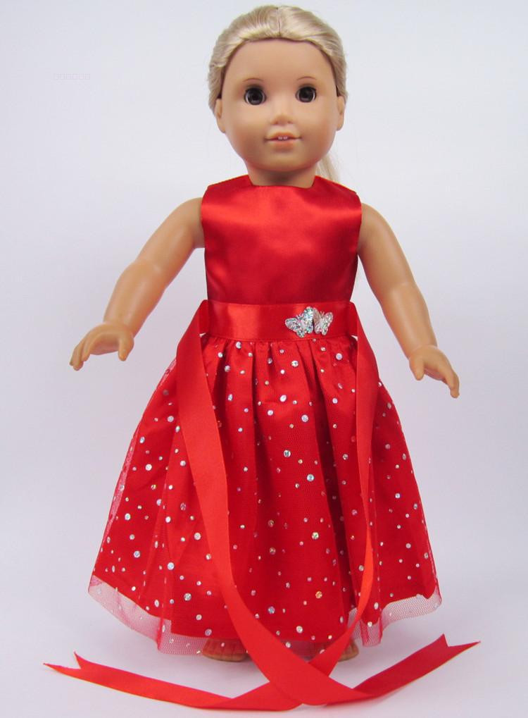 "Beautiful Free Shipping Hot 2014 New Style Popular 18"" American American Girl Doll Christmas Outfits Of Wonderful 40 Ideas American Girl Doll Christmas Outfits"