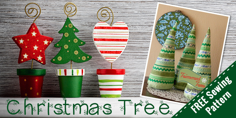 Free Stuffed Christmas Tree Pattern – Sewing For Beginners